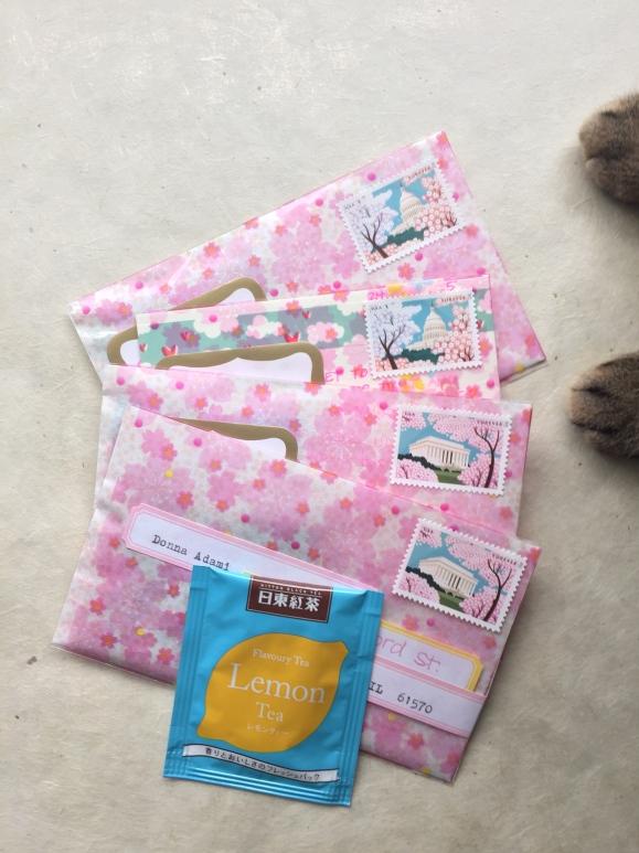 cherry blossom mail