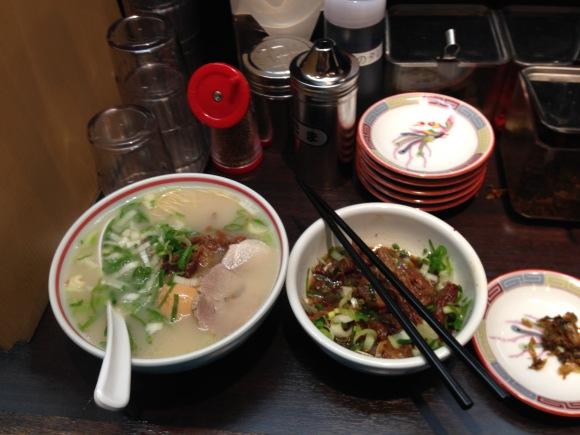 Shina Soba-ya ramen, Shin Yokohama ramen museum