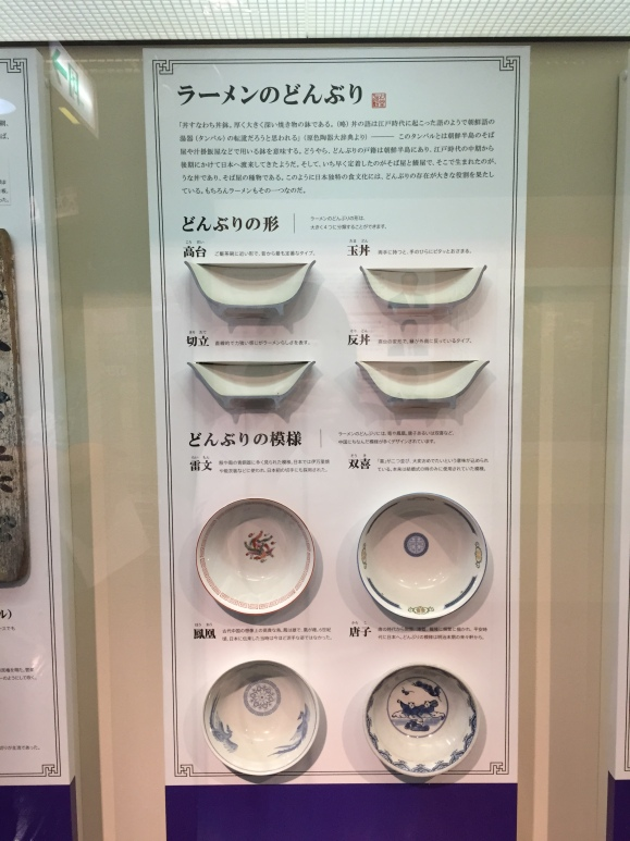 ramen bowls, Shinyokahama ramen museum