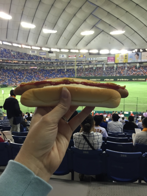 Yomiuri Giants Game, hot dog