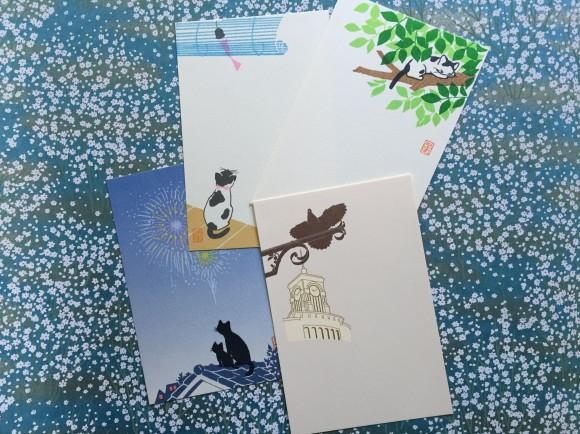 Kyukyodo, Tokyo, Ginza, stationery, washi stickersKyukyodo, Tokyo, Ginza, stationery, postcards