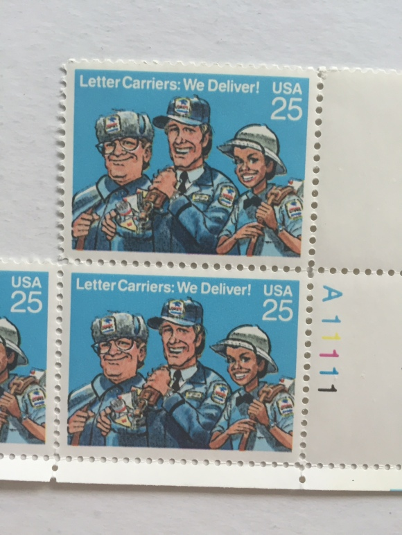 Letter Carriers We Deliver Stamps