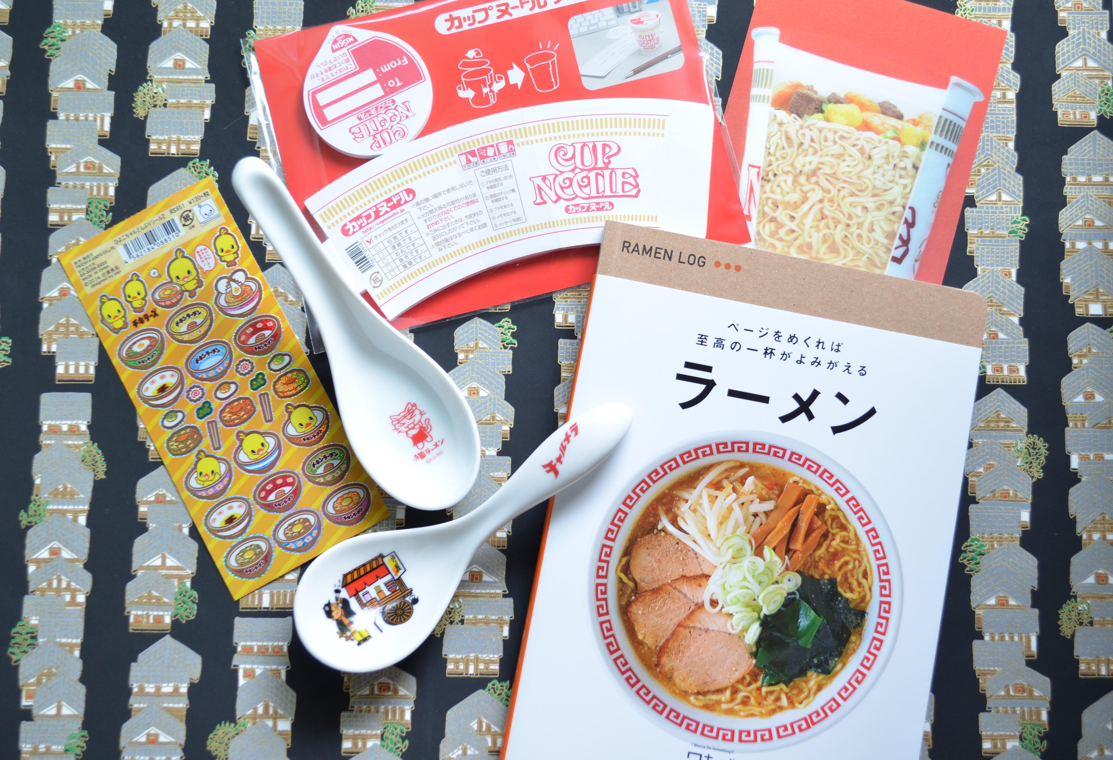 Ramen Souvenirs, Japan, Naoberly Noodle Tour