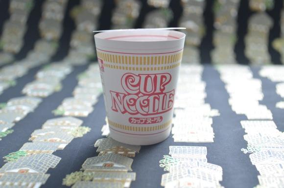 Cup Noodle note, assembled