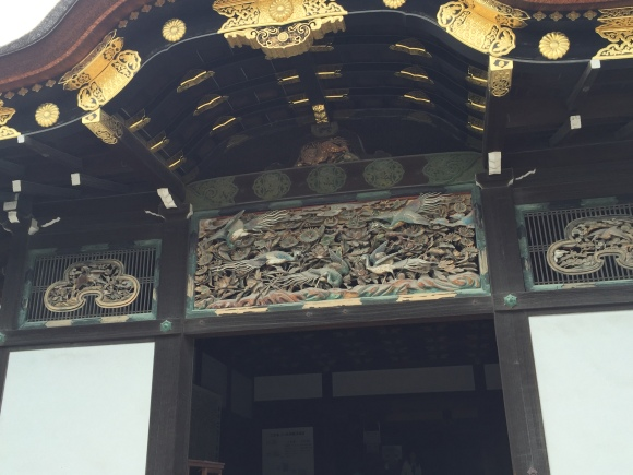 detail of Nijo castle