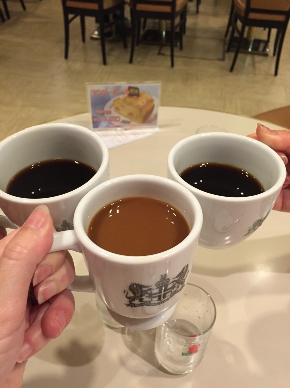 Inoda Coffee, Kyoto, 3 cups