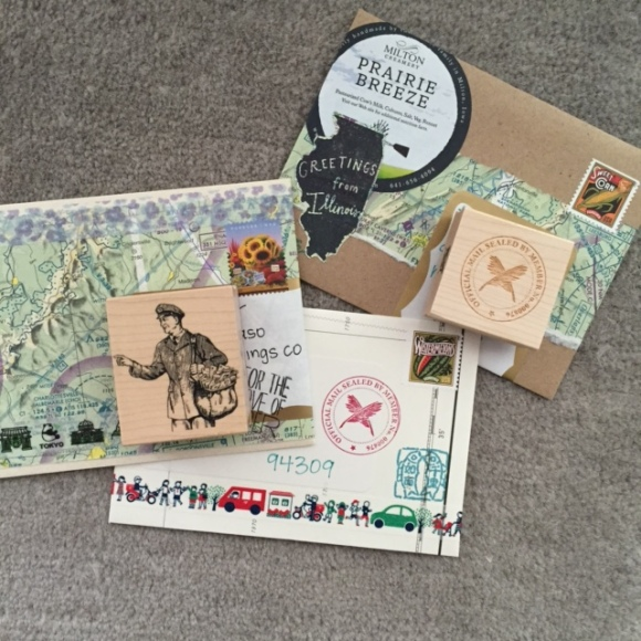outgoing mail August, #showandmail, #feedyourmailbox, mail art