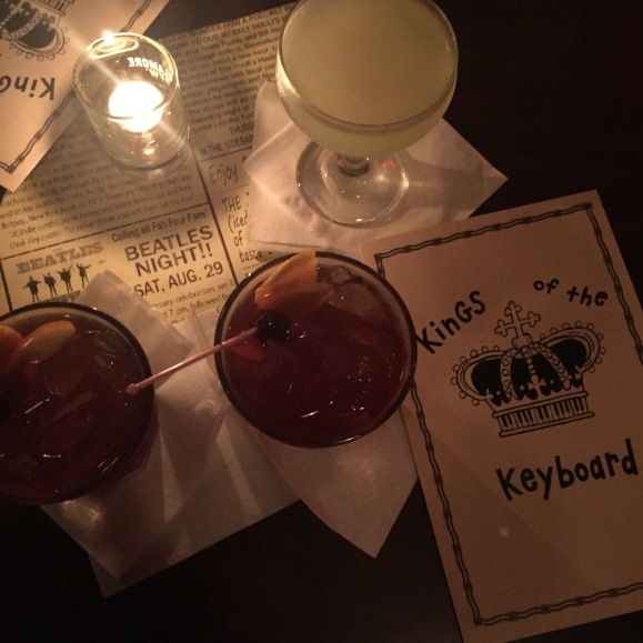 FitzGeralds, Kings of the Keyboard cocktails