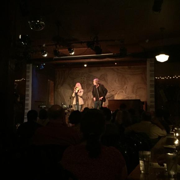 Kings of the Keyboard hosts Heather McAdams and Chris Ligon