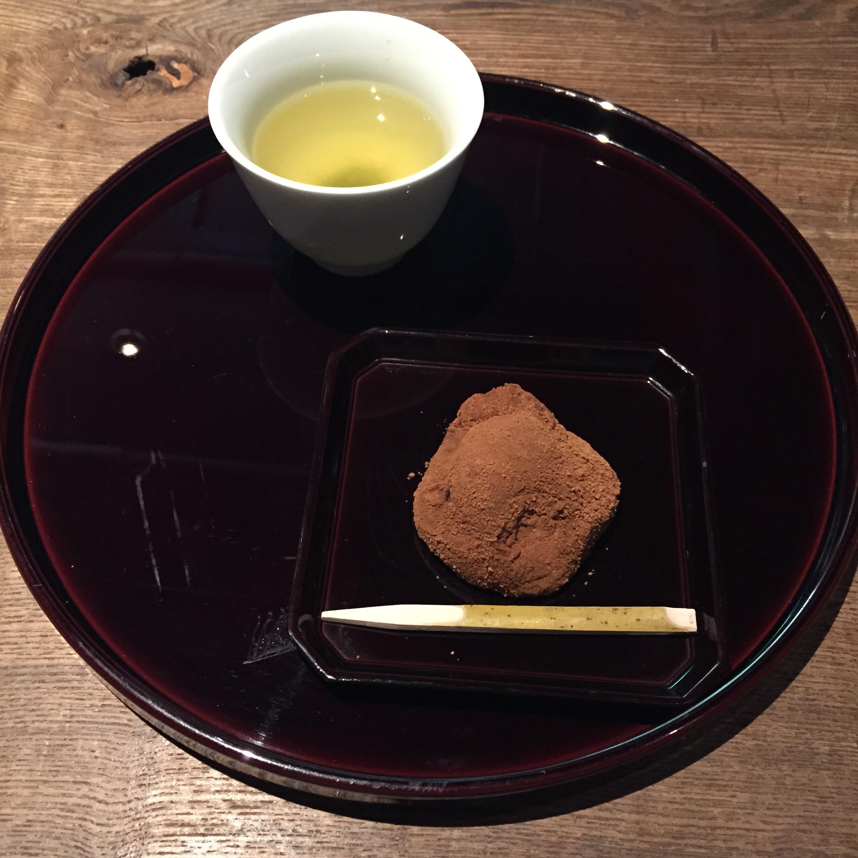 dessert, mochi, Yuzuya Ryokan, Kyoto, Japan