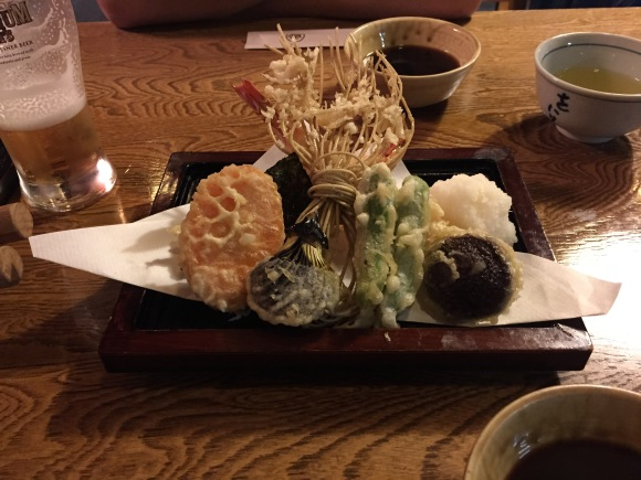 Owariya tempura