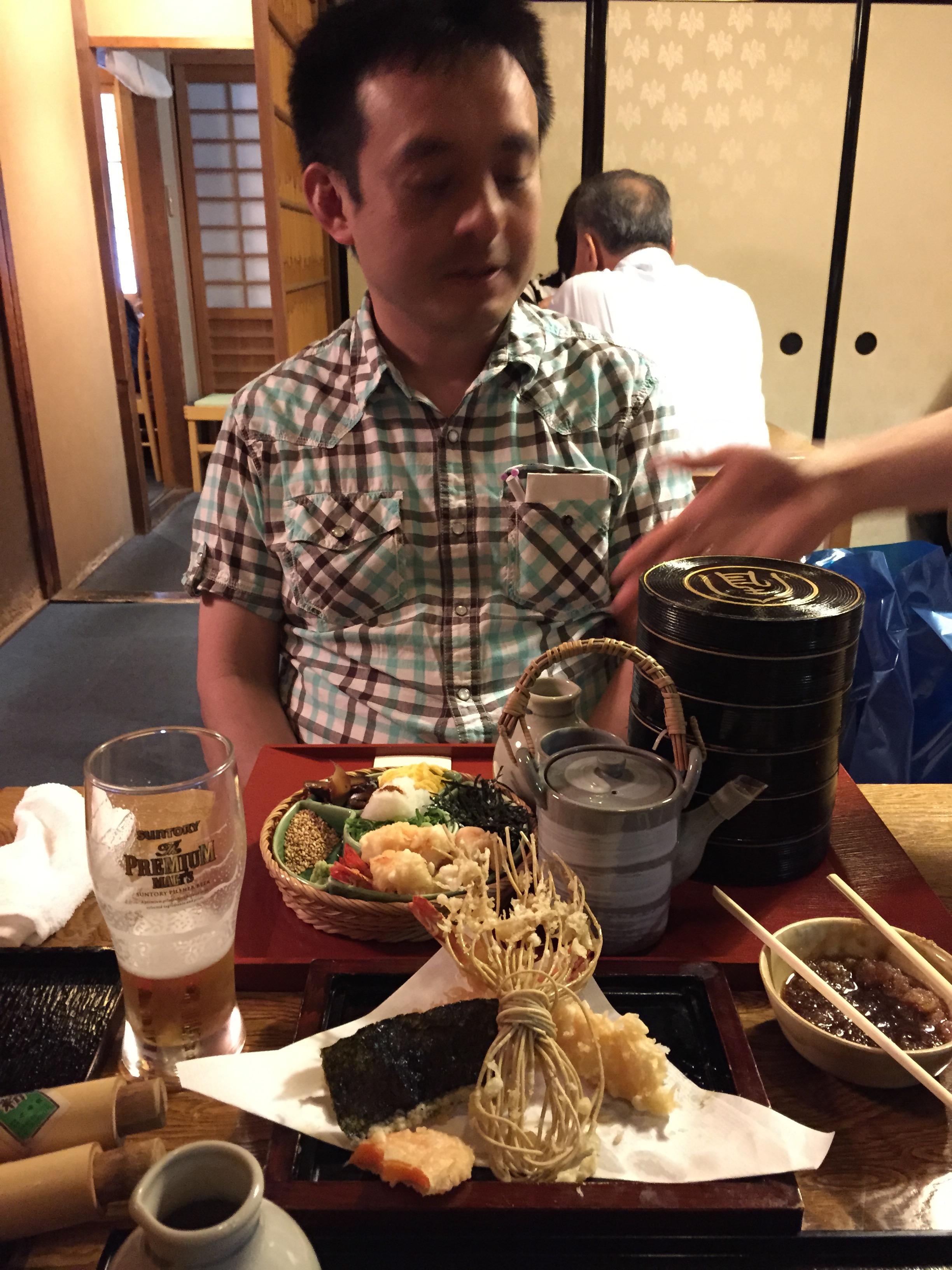 deluxe noodle dish, Owariya Noodle