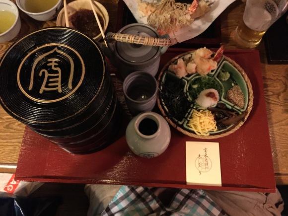Owariya Noodles, delux dish