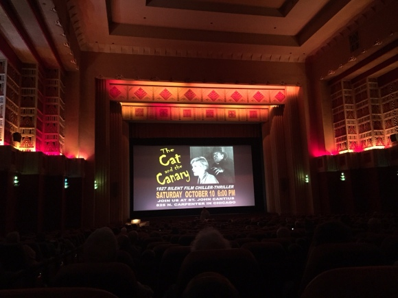 Silent Summer Film Festival, The Pickwick, Park Ridge, IL, old movie theaters