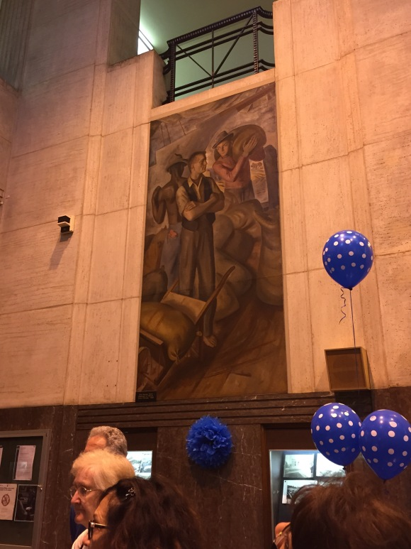 Oak Park Post Office, USPS, murals