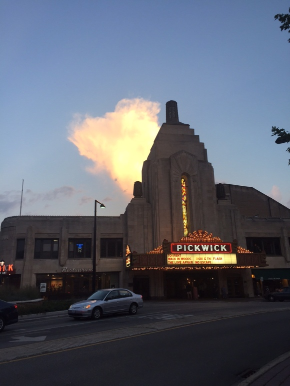 The Pickwick, Park Ridge, IL, old movie theaters