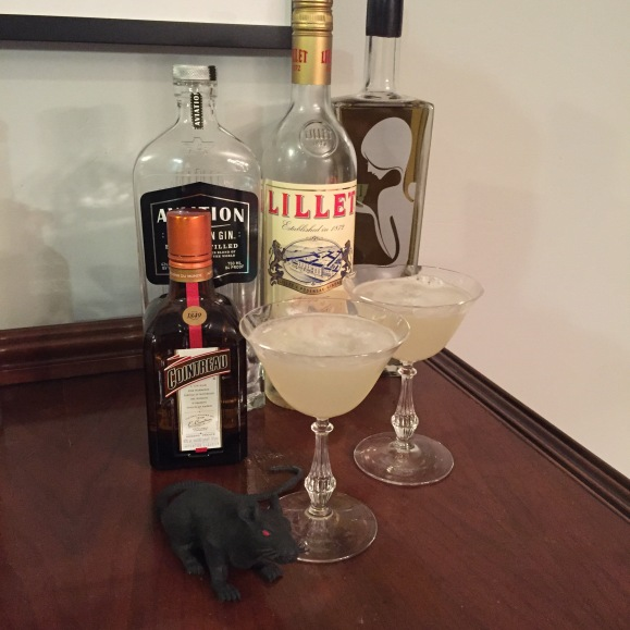Corpse Reviver #2, Lillet, Aviation Gin, Cointreau, Absinthe