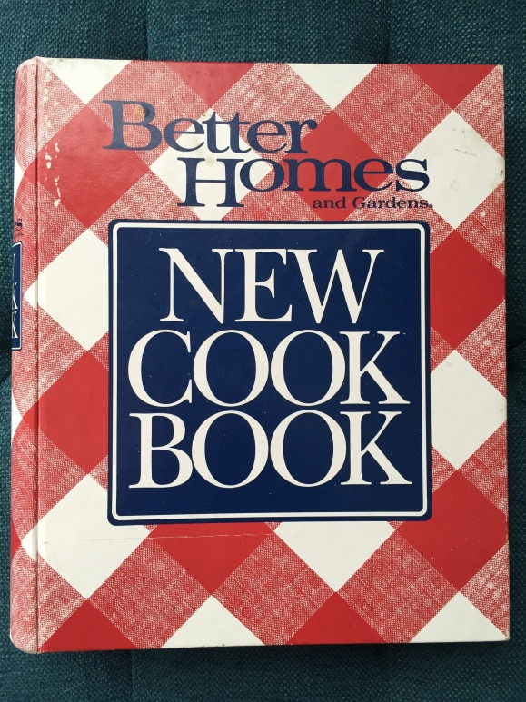 Better Homes and Gardens NEW COOK BOOK , 1989 edition