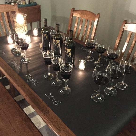 Phantom Flight Night Table runner, Bogle Wine, Phatom Wine