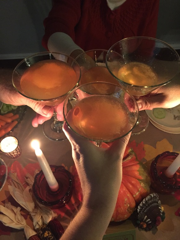 sidecars, Thanksgiving cocktail