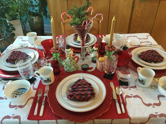 book club christmas tea 2015