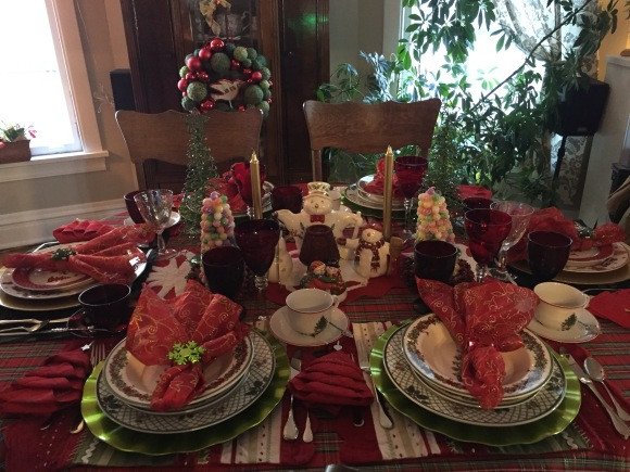 Book Club Christmas Tea 2015 2