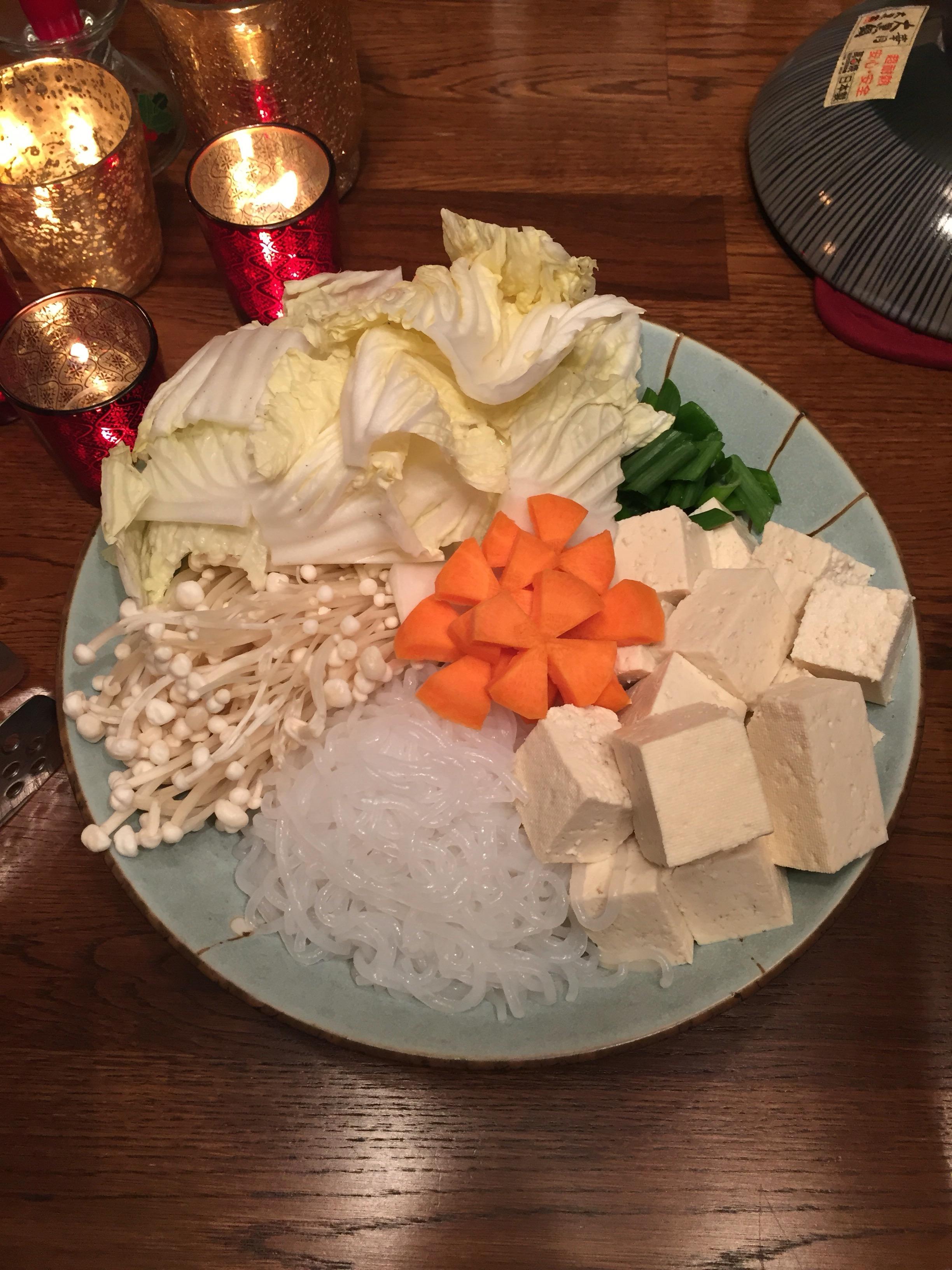 japanese donabe vegetables