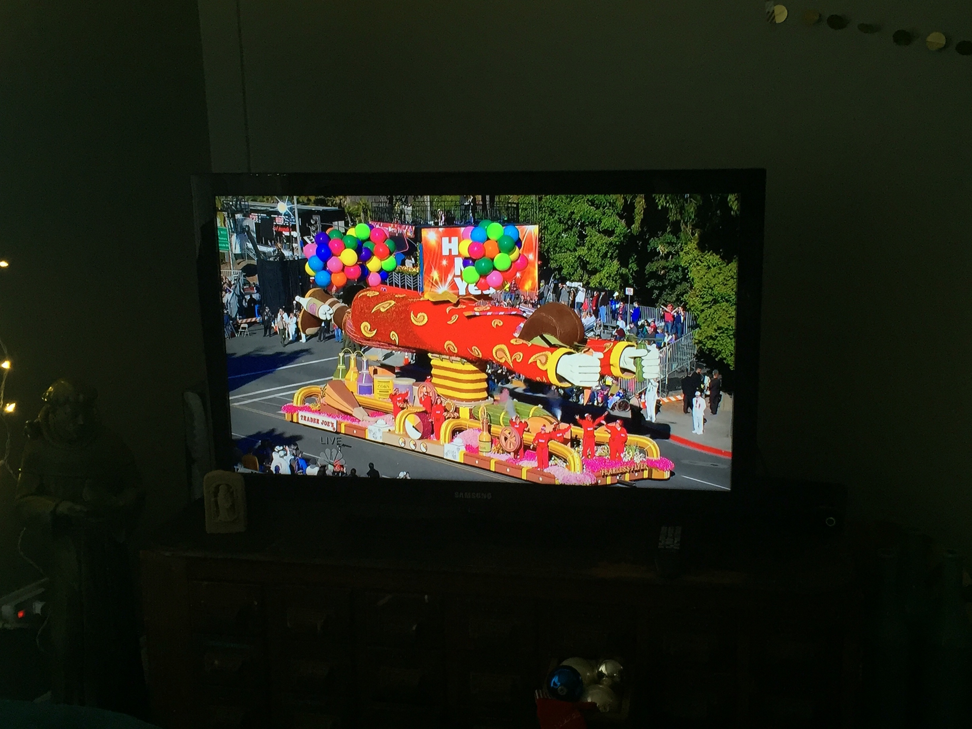 Trader Joe's float, Rose Bowl Parade 2016