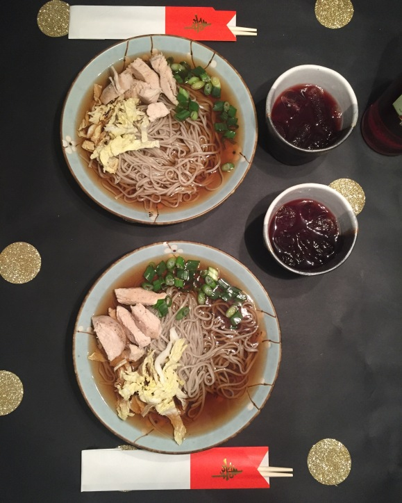 toshikoshi soba, New Years 2016
