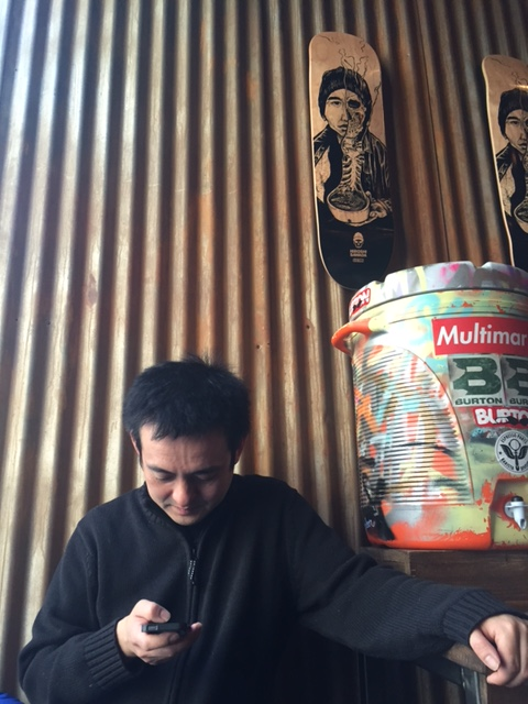 Naoto at Sawada Coffee, Chicago