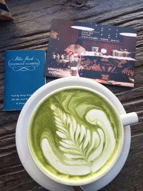 Sawada Coffee, matcha latte