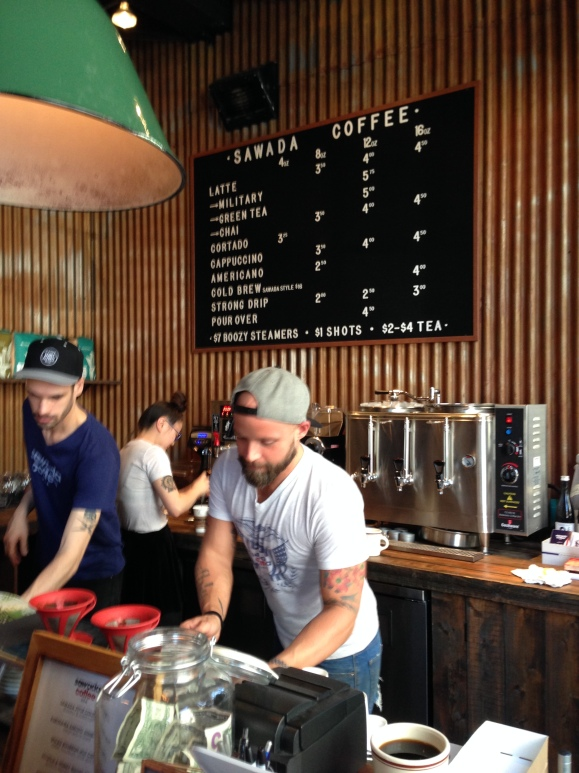 Sawada Coffee, CHicago, pourover coffee