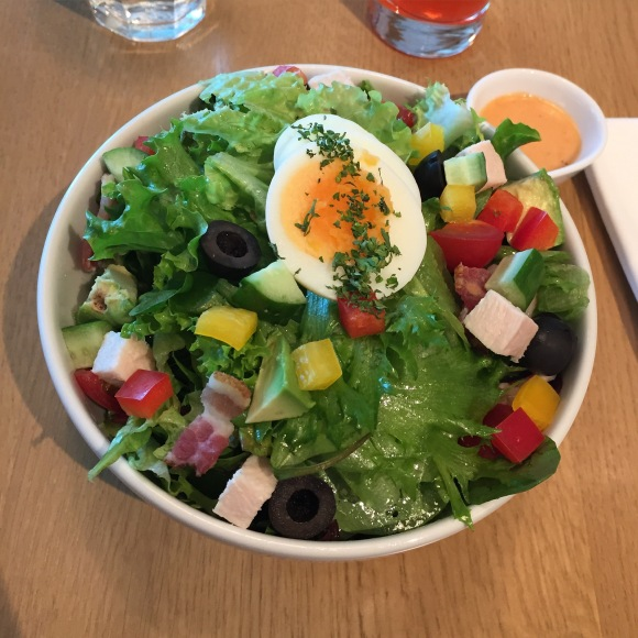 Cafe Stylo chef salad, Itoya