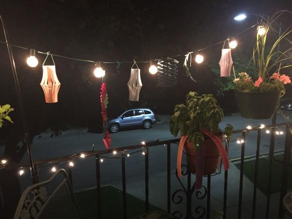 Hasegawa Tanabata 2016, decorations night