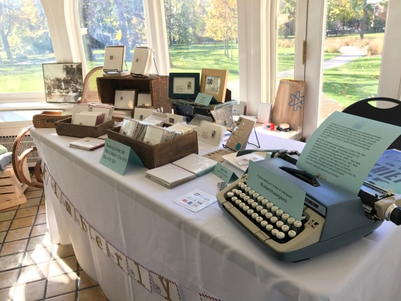 craft show table 2, Petite Boutique, Pleasant Home Oak Park, 2016