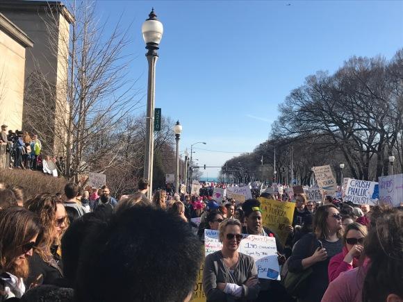 Women's March Chicago 1