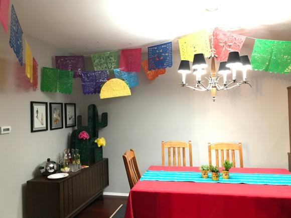 Cinco de Karen, Cinco de Mayo, Fiesta, retirement party, piñata, cactus