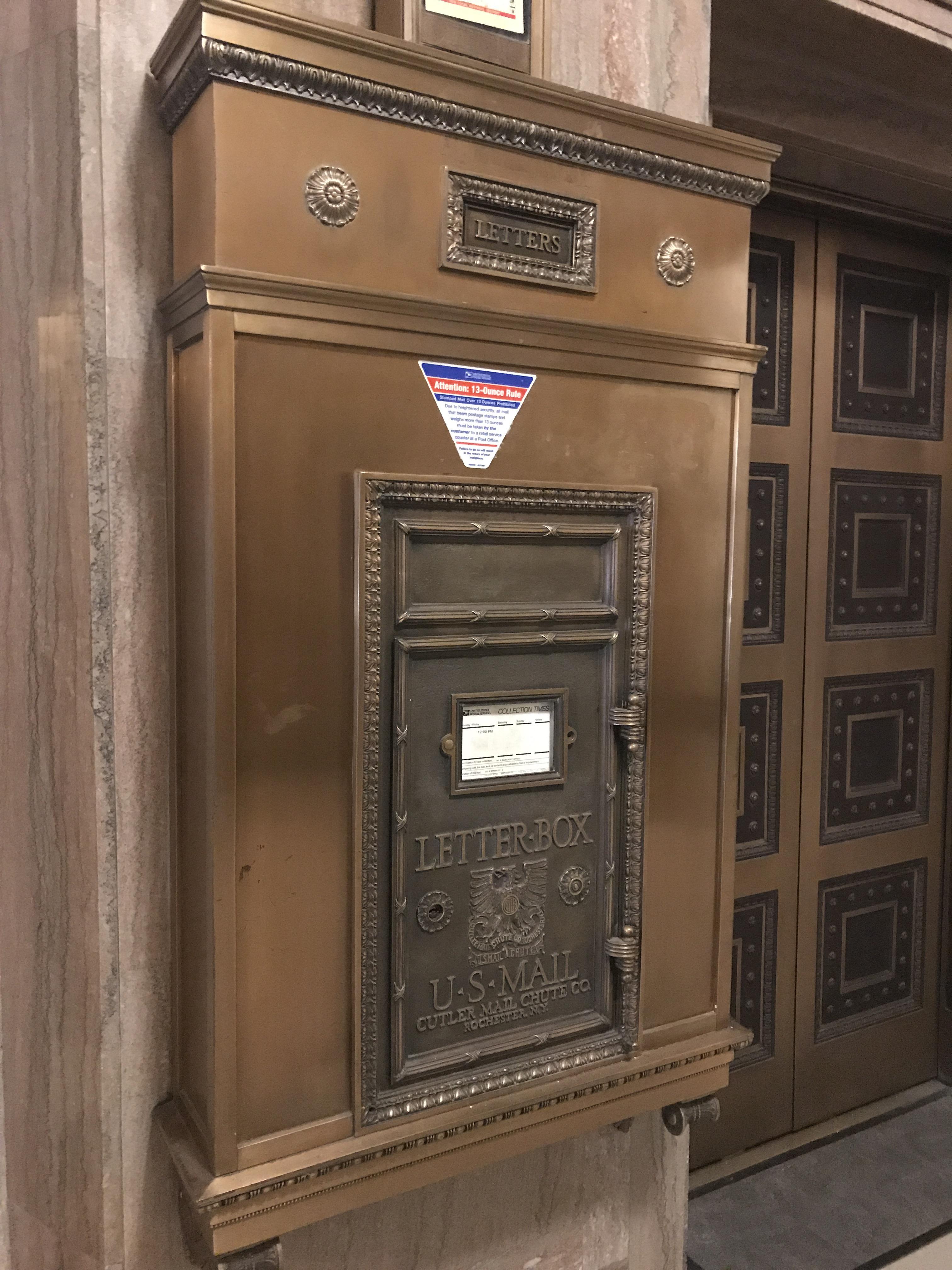 Los Angeles City Hall mailbox