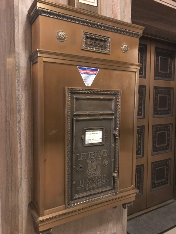 Los Angeles City Hall mailbox