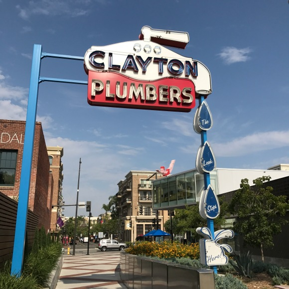 clayton plumbers at the MONA in Glendale, CA