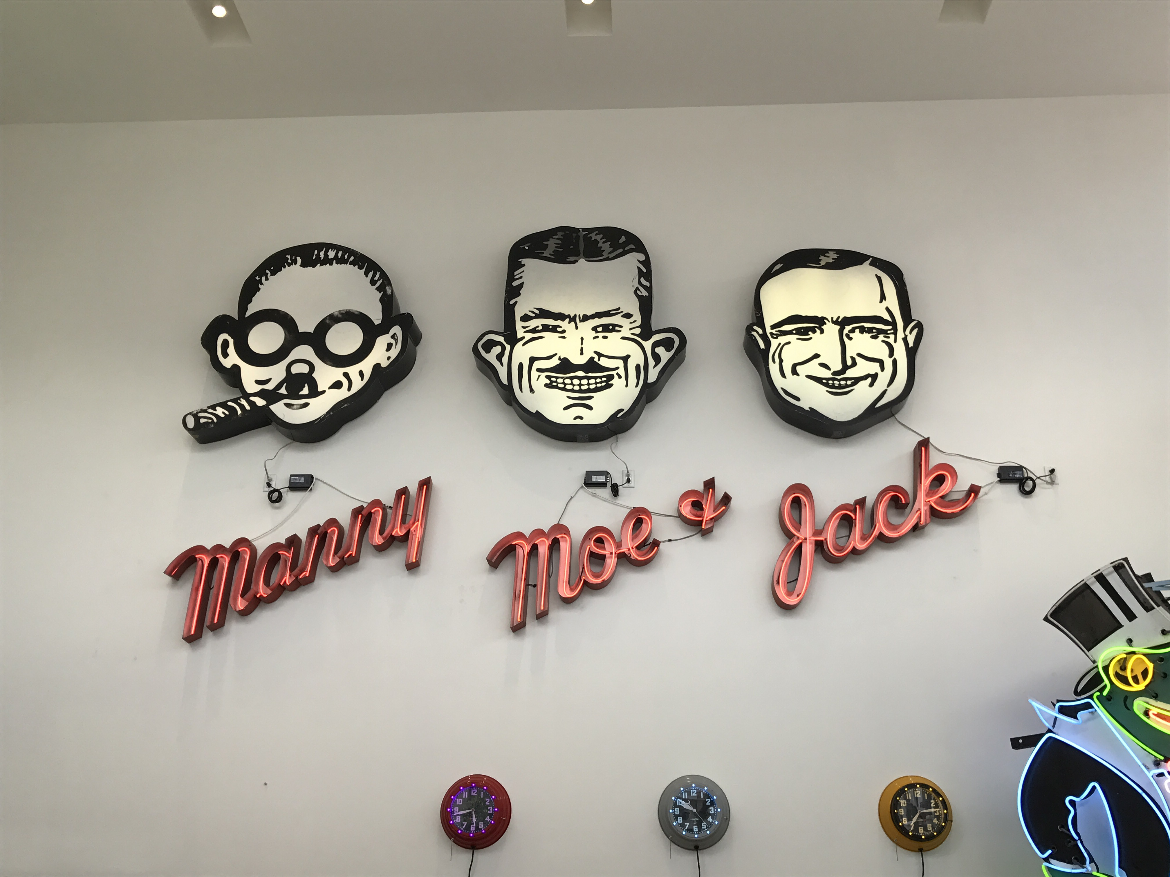 Pep Boys at Museum of Neon Art