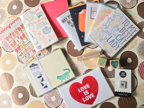 things I bought, Paper Pastries, Glendale, CA, LA stationery shops