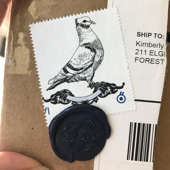 Letter Writers Alliance, RSVP mailings, Pigeon Mail