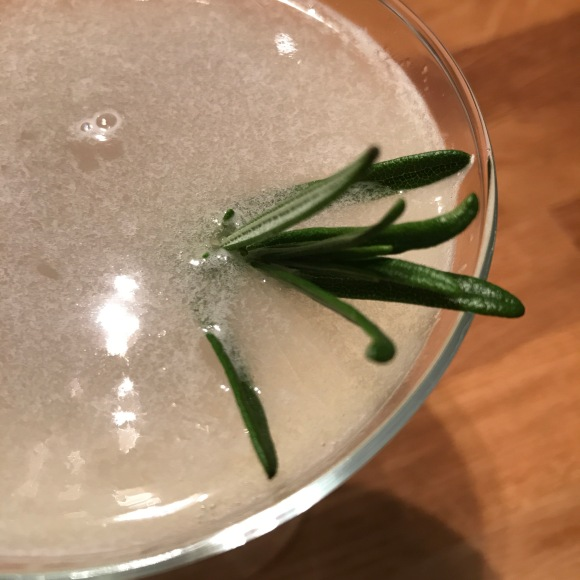 rosemary gimlet, Hasegawa Happy Hour, cocktail hour, summer cocktails