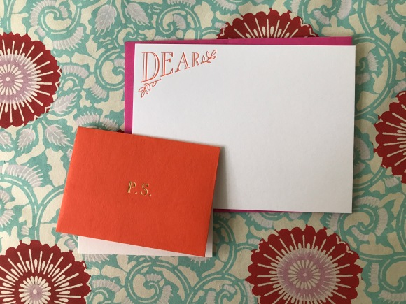 cheree berry dear/PS stationery, greer chicago