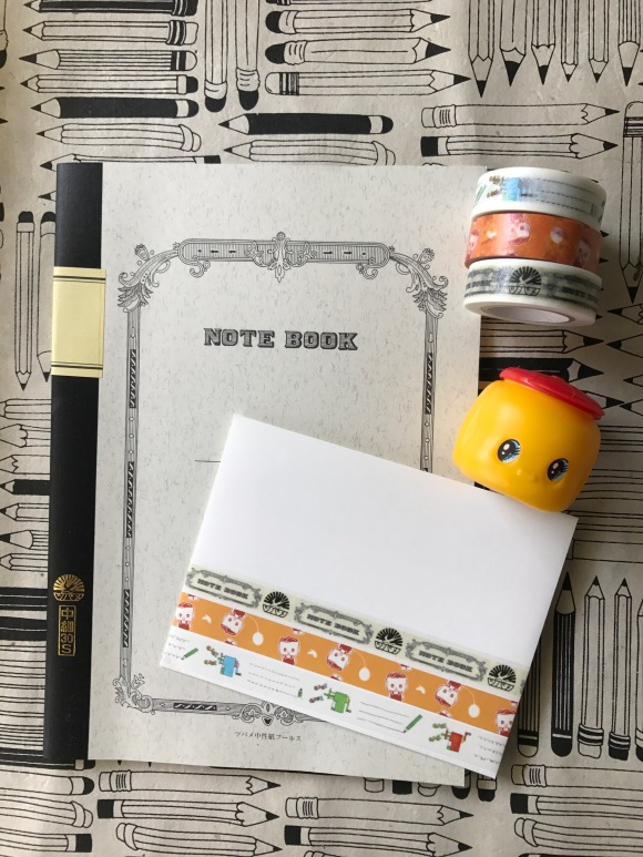 washi weekend, MT tapes, sparrow notebook, school supplies