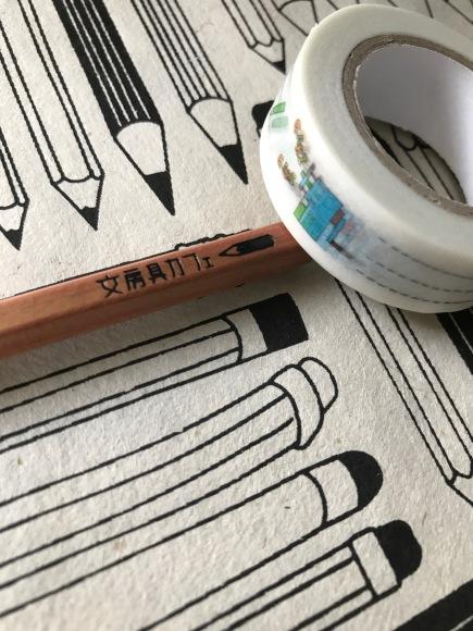 bunbougu cafe, tokyo office supplies, tokyo stationery, washi tape, pencil sharpener