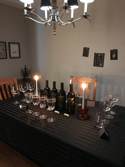 Phantom Flight Night, Bogle wines, Bogle Phantom, wine tasting party, halloween wine tasting, red wine
