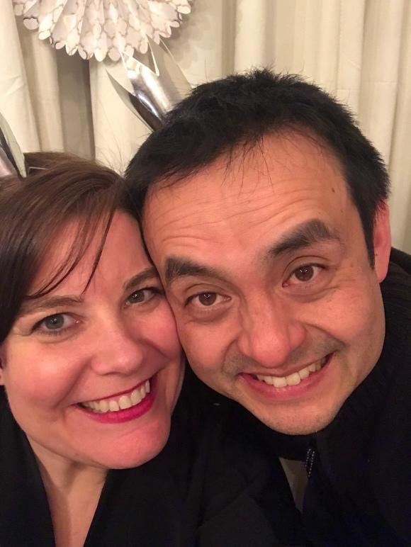 New Years Eve, Kimberly and Naoto