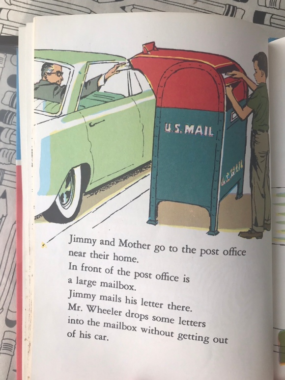 Mr. Zip and the US Mail by Jene Barr, vintage kids books, out of print books, books about mail, snail mail, write on, national letter writing month